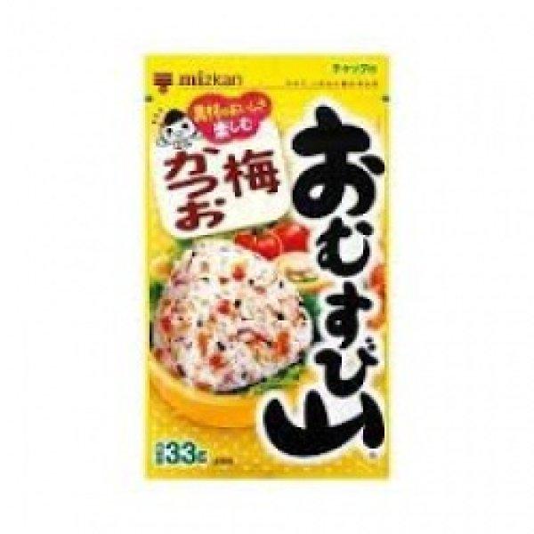 Photo1: おむすびやま 梅かつお31g/ Omusubiyama Umekatuo(Spice for Riceball)31g (1)