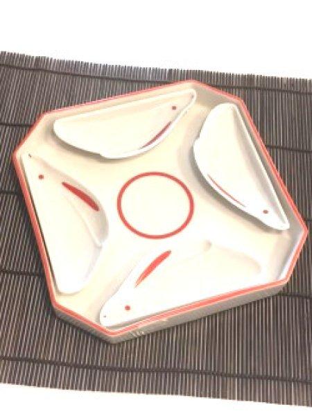 Photo1: Shinzi Katoh / ウサギ皿セット4p Rabbit Sushi Set for 4p (1)